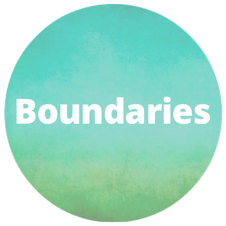 boundaries button