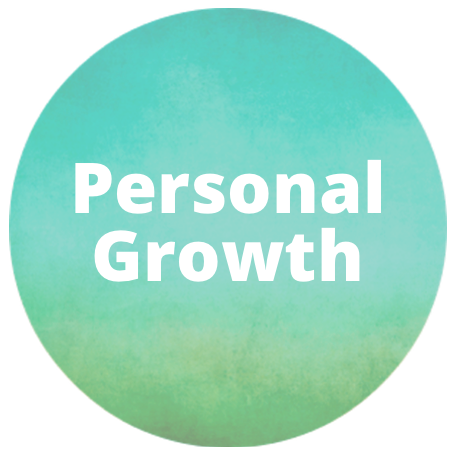 personal growth button